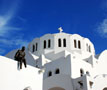 White Greek Church